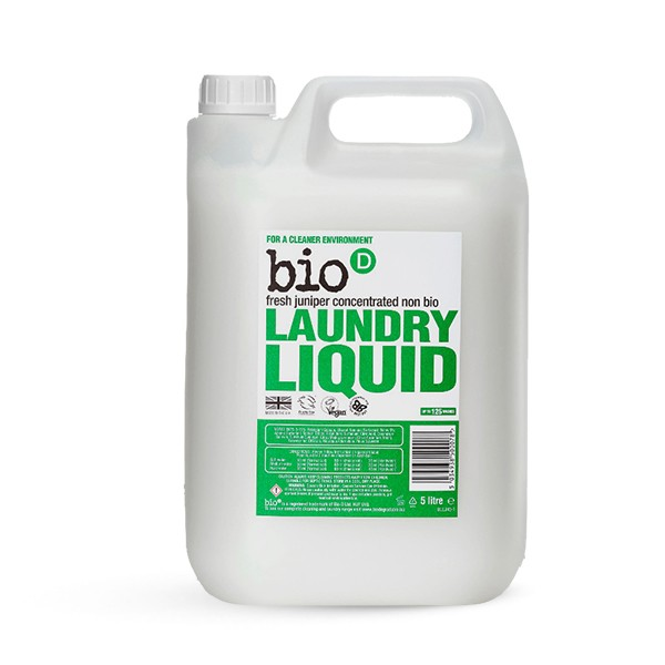 Bio-D Eco-friendly Laundry Liquid with Fresh Juniper 5l