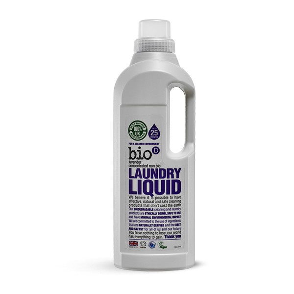 Bio-D Eco- friendly Laundry Liquid with Lavender 1l