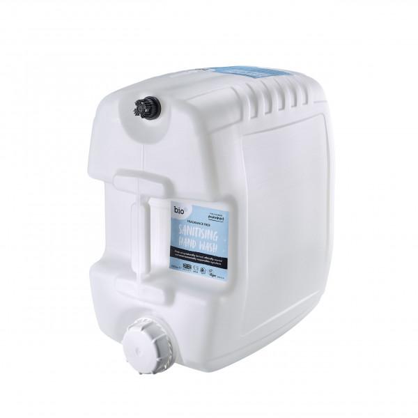 Bio-D Sanitising Hand Wash Fragrance Free 20l