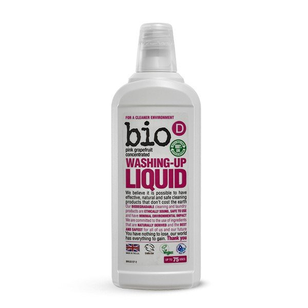 Bio-D Dish Soap with grapefruit 0.75l