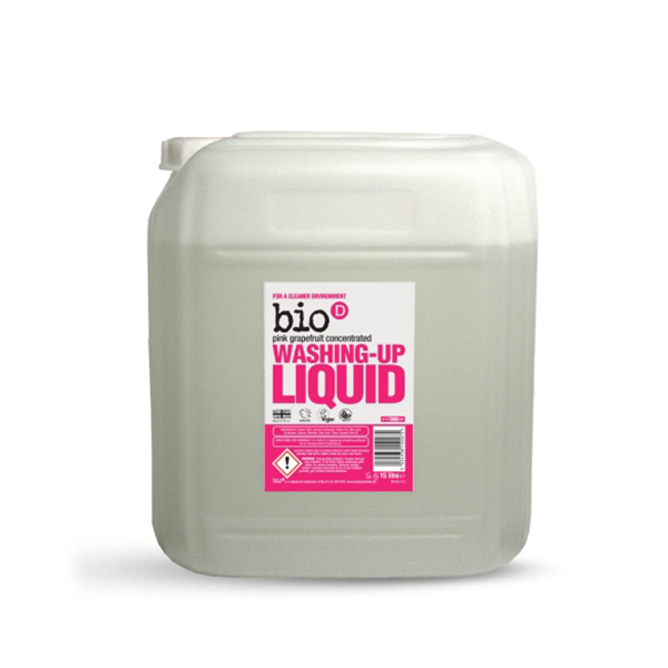 Bio-D washing up liquid with grapefruit 15l