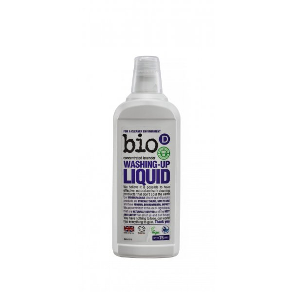 Bio-D levander washing-up liquid 0.75l