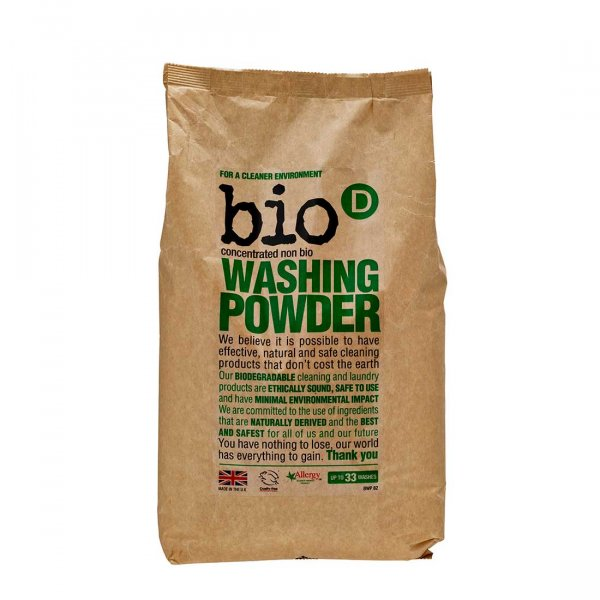 Bio-D Eco-friendly Washing Powder 12,5 kg