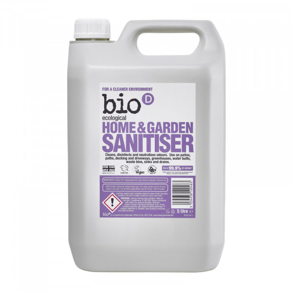 Bio-D Home and Garden Sanitiser 5 litres