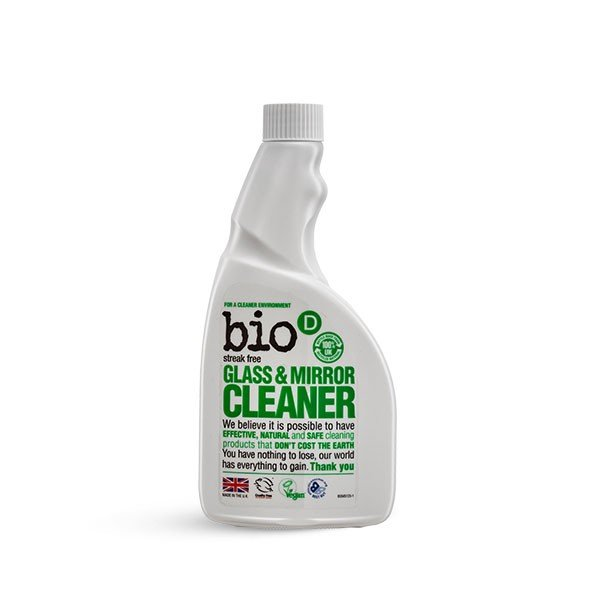 Bio-D glass and Mirror Cleaner Refill 0.5l