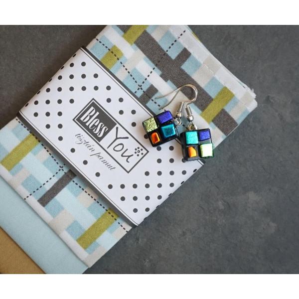 Handkerchiefs pastel truss Bless you, size S, 3 pcs
