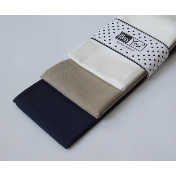 Handkerchiefs classic Bless you, size S, 3 pcs