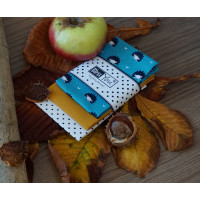 Handkerchiefs hedgehog Bless you, size S, 3 pcs