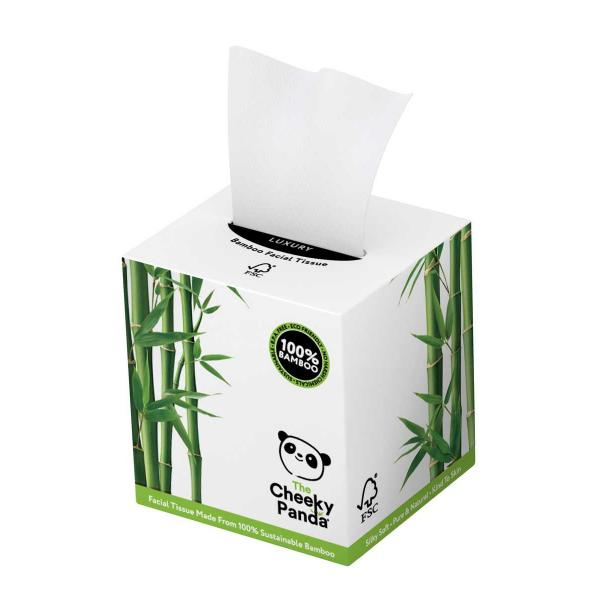Facial Tissue cube box (3ply, 56 sheets)