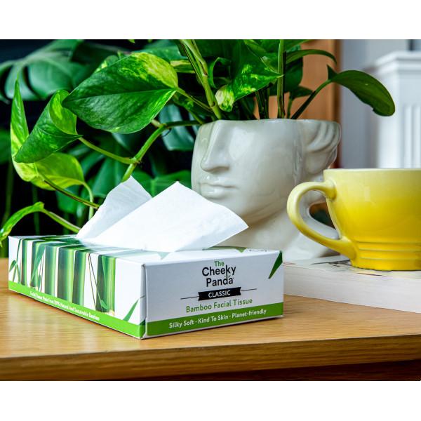 Facial Tissue flat box (3ply, 80 sheets)