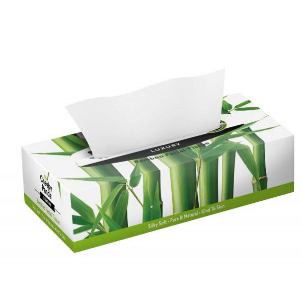 Facial Tissue flat box (3ply, 80 sheets)