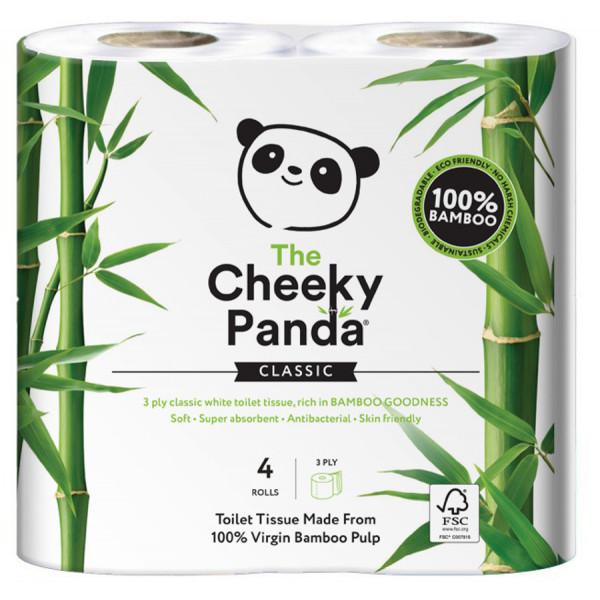 Bambusz wc papír 4 tekercs (3 rétegű, 200 lap p...