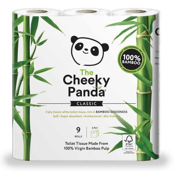 Bambusz wc papír 9 tekercs (3 rétegű, 200 lap p...