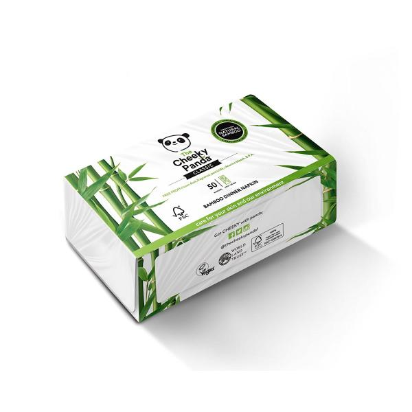 Bambusz szalvéta (50 db)