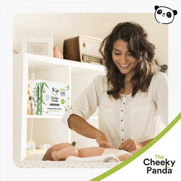Eco Friendly Bamboo Baby Nappies size 4, 9-14kg (38pcs)