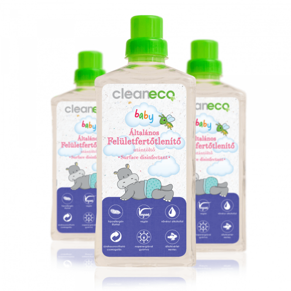 Cleaneco Baby Organic Surface Disinfectant, 1 litr...