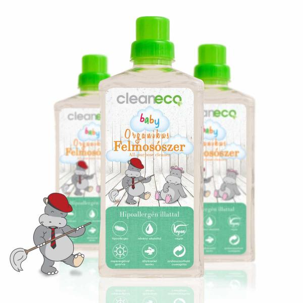 Cleaneco Baby Organic Floor Cleaner, 1 liter