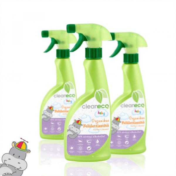 Cleaneco Baby Organic Surface Cleaner 0.5 litre