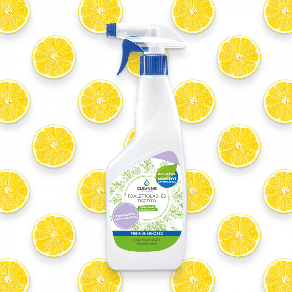 Cleanne toilette oil and cleaner lemon