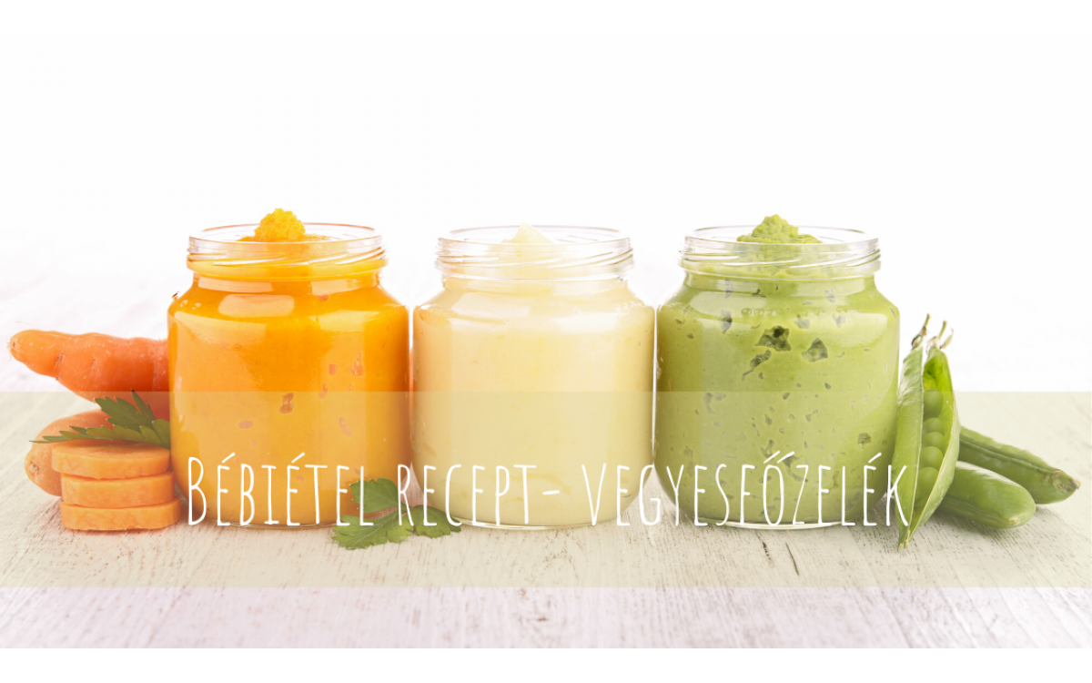 Baby food recipes - vegetable puree