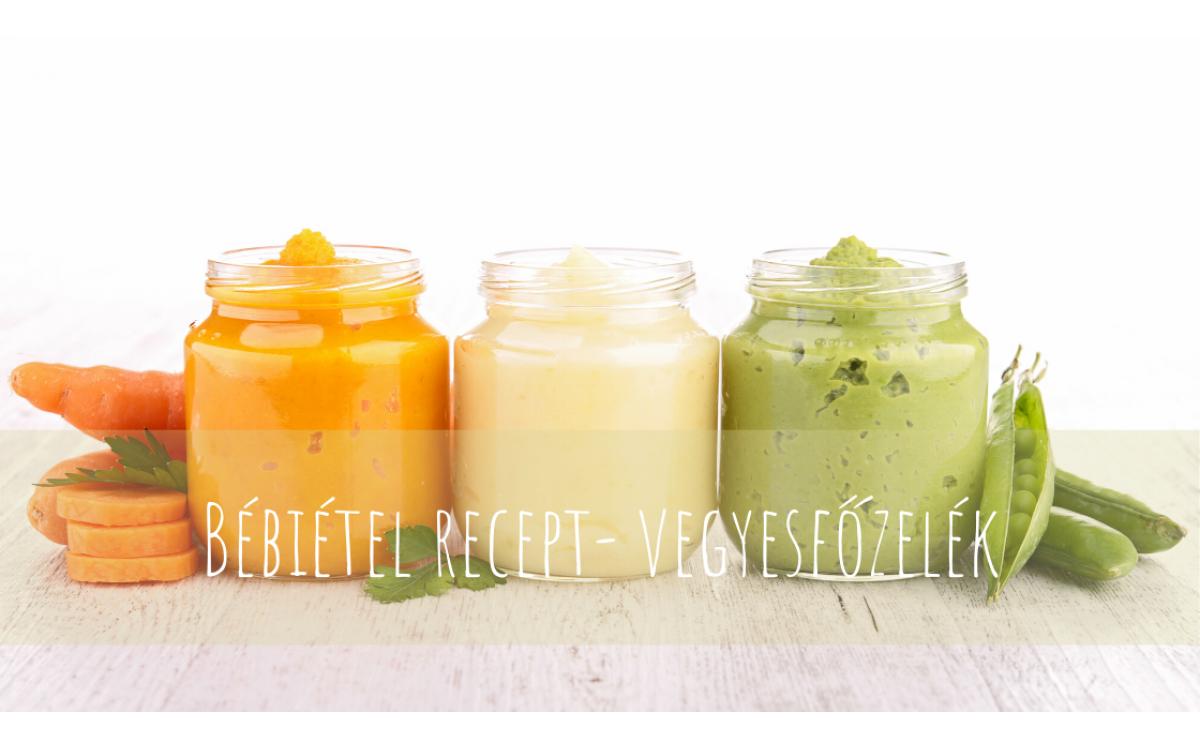 Baby food recipes - vegetable puree