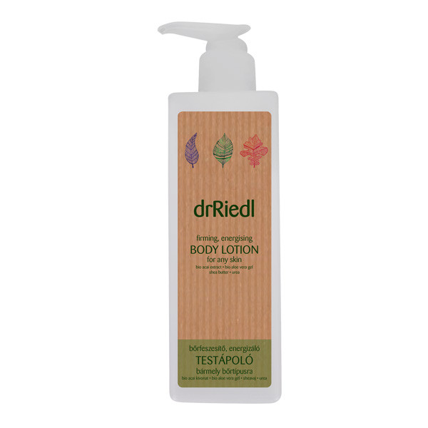 Firming energising body lotion for any skin