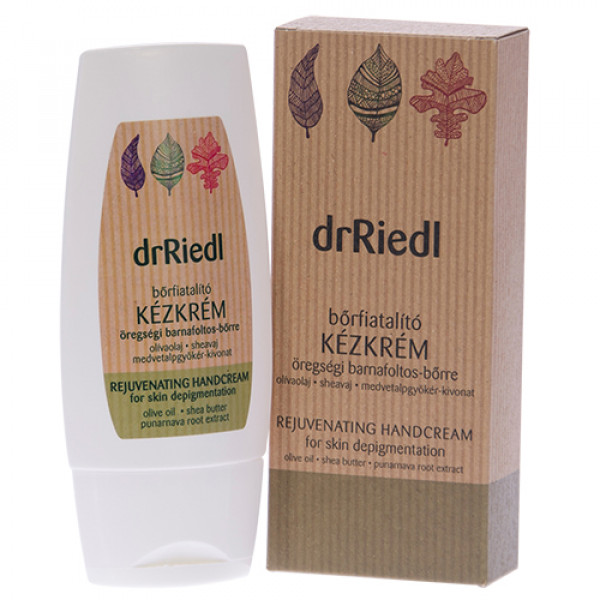 Skin rejuvenating hand cream