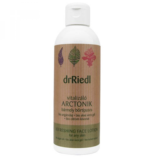 dr Riedl vitalizing face lotion 200ml