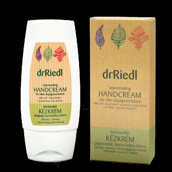 Skin rejuvenating hand cream