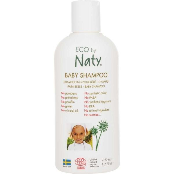 ECO by Naty baby shampoo with organic aloe  200ml