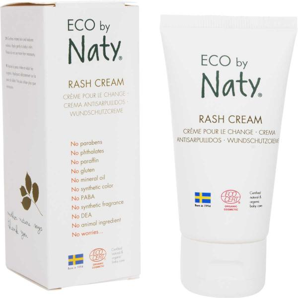 ECO by Naty Baby Rash Cream with aloe and shea but...