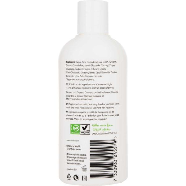 Naty baby shampoo with organic aloe  200ml