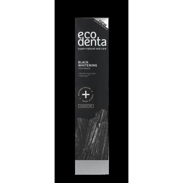 ECODENTA EXTRA Black whitening toothpaste with black charcoal and Teavigo™ 100 ml