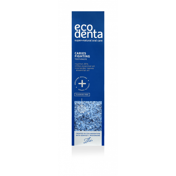 Ecodenta caries fighting toothpaste 100 ml