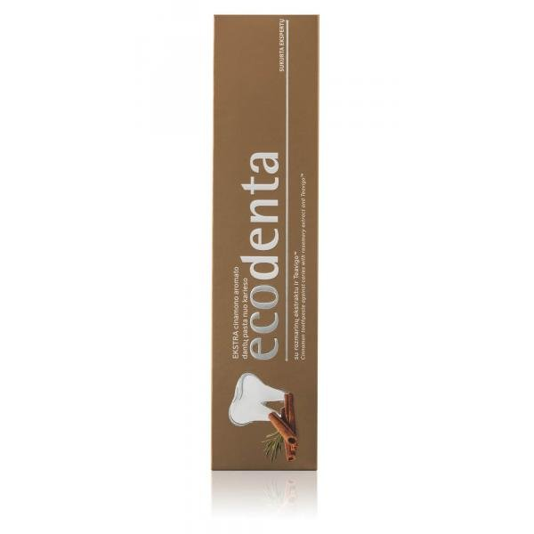ECODENTA EXTRA Cinnamon toothpaste against caries ...
