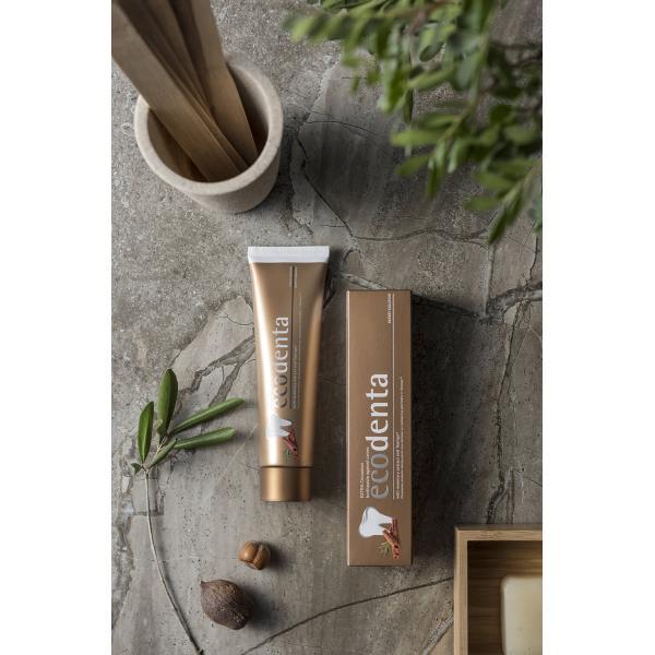 Ecodenta Extra fogszuvasodás elleni fogkrém fahéjjal és rozmaringgal 100ml