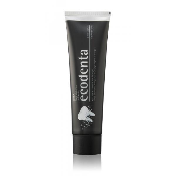 ECODENTA EXTRA Black fogfehérítő fogkrém feket...