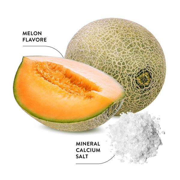ECODENTA EXTRA dinnye ízesítésű fogzománc erősítő fogkrém ásványi kalcium sóval és fluoriddal 100ml