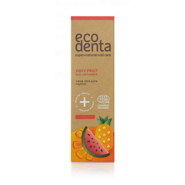 ECODENTA COSMOS ORGANIC Juicy fruit kids toothpast...