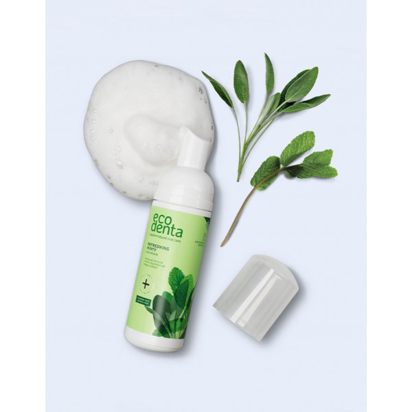ECODENTA Refreshing minty mouthfoam, 50ml