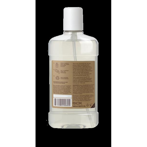 ECODENTA COSMOS ORGANIC Minty coconut mouthwash 500 ml