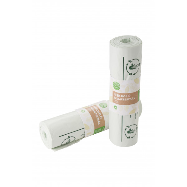 Eco bin liner, 120 l, 10 pcs