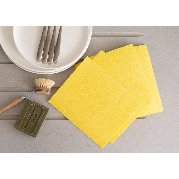 Compostable UK Sponge Cleaning Cloths 4 Pack