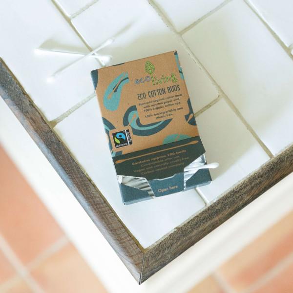 Organic Fairtrade Cotton Buds (FSC Mix 70%)