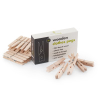 Wooden clothe pegs