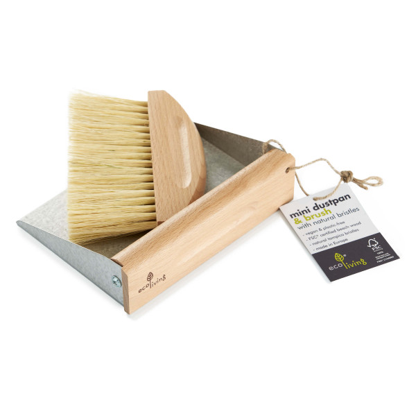Mini Dustpan Set (100% FSC)