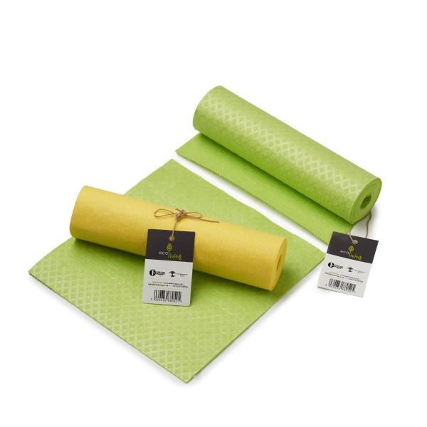 Compostable Sponge Kitchen Roll Yellow