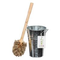 Plastic Free Toilet Brush & Holder Set - Large...