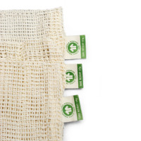 Organic cotton mesh produce bag – set of 3