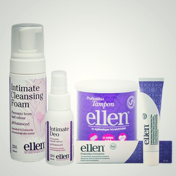 ellen® intim total care csomag